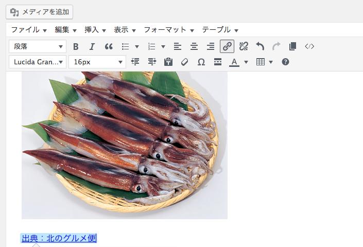 ワードプレスで画像挿入・リンク挿入の方法