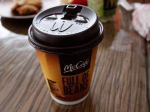 コーヒーの中に入っているリン酸塩